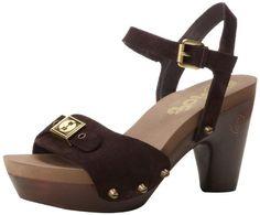 #sale Flogg Women's Fantastic Platform Sandal,Chocolate Suede,7.5 M US