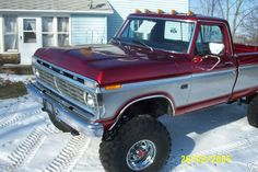 Picture result for ford truck 83 Big Ford Trucks, 1979 Ford Truck, Classic Ford Trucks, Ford 4x4, Diesel Trucks, Cool Trucks, Lifted Trucks, 4x4 Trucks For Sale, Ford Diesel