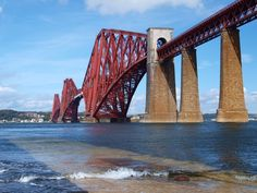 Forth bridge, Scotland... This is a LONG LONG Bridge during a traffic jam. @E E E & @Ditch Doctor