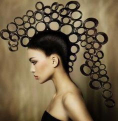 Fashion show makeup avant garde inspiration Best Ideas Naha, Afro Punk, Crazy Hair, Big Hair, Creative Hairstyles, Cool Hairstyles, Hairstyles 2018, Fashion Show Makeup, Avant Garde Hair