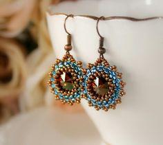 Cokoladky Drop Earrings, Jewelry, Fashion, Pearls, Pearl Embroidery, Moda, Jewlery, Jewerly, Fashion Styles