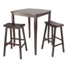 Winsome Inglewood High/Pub Dining Table with Saddle Stool, 3-Piece (Misc.)  http://mobilephone.10h.us/amazon.php?p=[PRODUCT_ID  B005NC2HP6