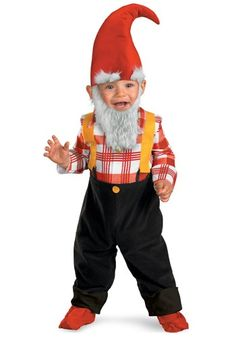 toddler gnome costume - Nelson's Halloween 2013 costume :)