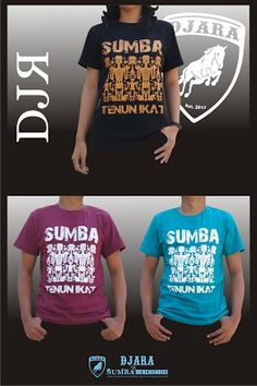 Kode Kaos : Sumba Tenun Ikatt I IDR : 75.000 (Maroon & Hijau tosca) . 80.000 (Hitam) I Ukuran : S, M, L, XL I Warna : Hitam, Maroon, Hijau tosca I Bahan : Cotton Combed 30's I SMS or WA : 085 7272 33 657 I pin BBM : 57031D1E I Line ID : kaos_djara I Fb fanpage : Kaos Sumba - Djara T.shirt I twitter : @Kaos_DJARA