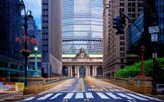 NYC | Grand Central Taxi Streak by Mark Bernstein on 500px