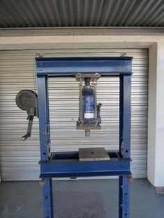 Homemade 20 ton hydraulic press