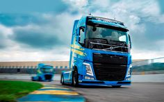 volvo truck wallpapers high resolution. download wallpapers volvo fh viking 2017 trucks raceway tractor tuning blue truck high resolution s