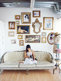 15 Gallery Walls That Will Floor You via Brit + Co.