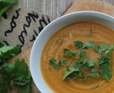 Smokey cumin, earthy coriander combined with sweet carrots give you a soup worth remembering.