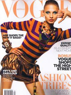 470fd358b86b7c rayures Rayures, Haute Couture, Couleur, Couvertures Du Magazine Vogue,  Couvertures Vogue,