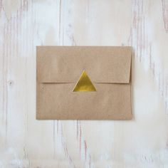 24  Gold Foil Triangle Stickers by AnastasiaMarieShop on Etsy, $3.00
