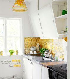 cozinha retrô #retro #kitchen #decoracao