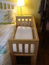 Troll bedside co sleeping crib