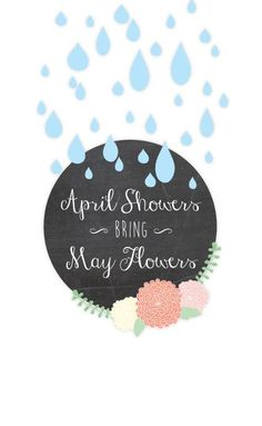 Free April Showers Bring May Flowers Printable from seven thirty three #april #spring #printable #freeprintable #aprilshowers #mayflowers