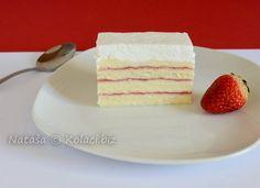 Torte i kolači sa jagodama (najbolji recepti na jednom mjestu) Kolaci I Torte, Small Cake, Just Desserts, Cheesecake, Clean Eating, Deserts, Low Carb, Pure Products, Recipes
