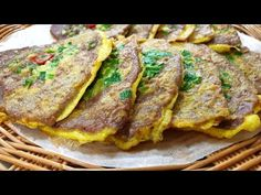 Cooking On The Grill, Food Festival, Korean Food, Food Plating, Cooking Recipes, Beef, Baking, Ethnic Recipes, Pancake