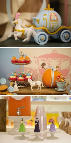 Cinderella Party from Keren Precel ...using real pumpkins @Rachel Pemberton perfect for this time of year we could paint them