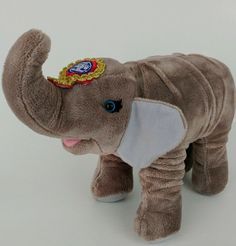 Ringling Brothers Circus Elephant Plush Mother Souvenir Stuffed Animal 2001 15"