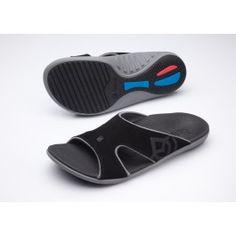 42908f6260e Spenco Polysorb Total Support Kholo Sandals -Black Pewter Sandals