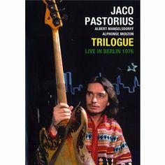 Jaco Pastorius: 'Trilogue - Live in Berlin 1976' [DVD]
