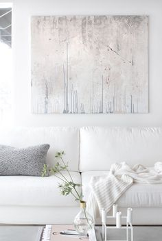 White with a touch of grey