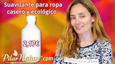 Receta de suavizante para la ropa casero y ecológico 2 litros por 2,17€ by Pilar Nature http://www.pilarnature.com/blog/?p=1986