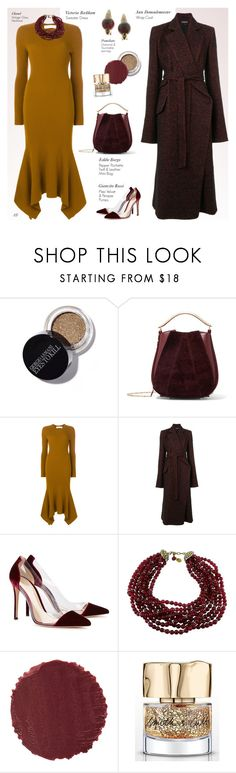 """Untitled #1341"" by louise-stuart ❤ liked on Polyvore featuring Eddie Borgo, Victoria Beckham, Ann Demeulemeester, Gianvito Rossi, Chanel, Burberry, Smith & Cult, Pomellato and sweaterdresses"