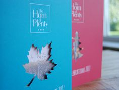 Festive & Events Brochure for The Horn of Plenty #creative #clockwork #marketing #hornofplenty #tavistock #devon #countryhousehotel #hospitality