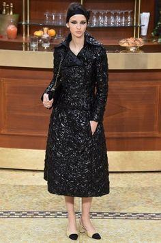 Trench coat nero Chanel