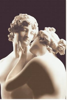 Venere e Adone (1789-94). Antonio Canova. Museo Canova, Italy.