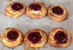 PUFF PASTRY RASBERRY SWIRLS & Cookbook winner » Get Off Your Butt and BAKE