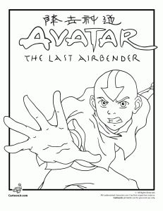 avatar last airbender coloring pages - 1000 images about the last airbender party ideas on