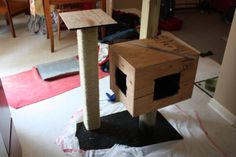 shadow cats cat tree plans how to build the shadow cats cat trees by ... #cattrees - Make your cat happy - Catsincare.com!
