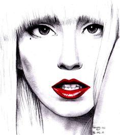 Lady Gaga by Laaury on DeviantArt