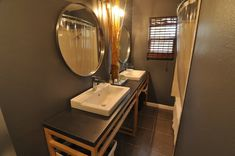 Another bathroom option.  Uses Molger (cart? shelving?), which is meant for the moisture of a bathroom.