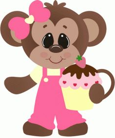 Cute Cartoon Monkeys | Monkeys Cartoon Clip Art | cartoon images ...