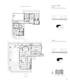 Duplex Apartment, Apartments, Dorchester Collection, The Dorchester, Pent House, Condominium, Skyscraper, House Plans, Floor Plans