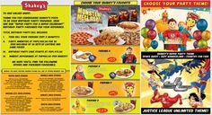 Shakey's Kids Party Package - Mommy Levy