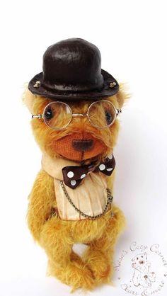 #artistbear #handmade #OOAK #collectable #Teddybear
