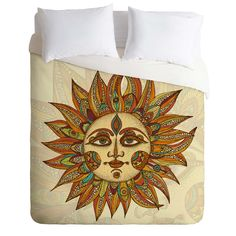 I love this bedspread~Valentina Ramos Helios Duvet Cover | DENY Designs Home Accessories