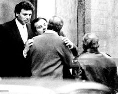 "Rare picture of Mark Reiter (left) and Gene Gotti. Reiter was a Gotti pal, and a huge drug trafficker. He owned a multi-million dollar penthouse on Manhattan's 59th Street. The previous owner had been Calvin Klein. He has been in prison since November 1987. Said by prosecutors to have ordered the executions of several suspected informers, Reiter was described by his sentencing judge as the link between the Gambino crime family and ""significant black narcotics traffickers. "" He is serving…"
