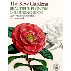 Kew gardens #beautiful flowers #adult #colouring book (new large mindfulness p/b),  View more on the LINK: 	http://www.zeppy.io/product/gb/2/291911815127/