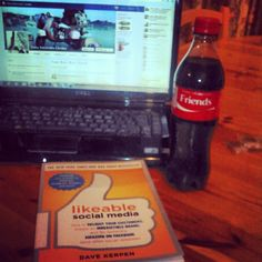 Directly from London, Likeable #SocialMedia by Dave Kerpen and a taste of new Coca Cola campaign, #shareacoke!