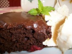 Chocolate Cherry Cake ~ What's Cookin' in the Parsonage?   RefreshHer