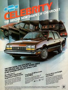 Chevrolet Celebrity. Not too many of these left. ;) 1980s #cars #chevrolet