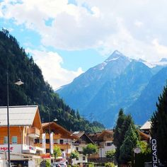 Zell Am See, Alpine Village, Visit Austria, Alps, Travel Photography, Lunch, Adventure, Vacation, House Styles