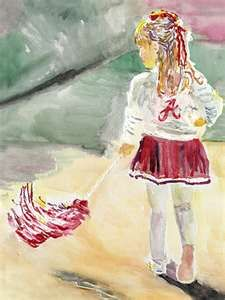 Future Alabama Crimson Tide cheerleader.   RTR