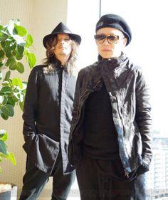 Dir en grey, Kyo and Kaoru