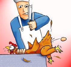 tuer la poule pour avoir l'oeuf = se priver de ressources à venir pour un petit intérêt présent