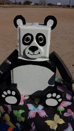 How cute is a Panda This little guy will by CaroleCustomCreation